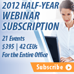 Half-Year Webinar Subscription