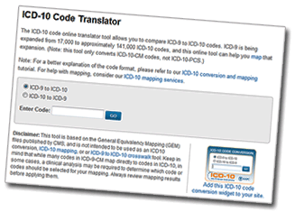 ICD-10 Code Translator