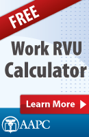 Free wRVU Calculator