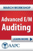 Advanced E/M Auditing Workshop